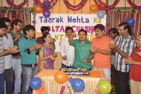 Cast of Taarak Mehta Ka Ooltah Chashmah Celebrates Completion of 7 years
