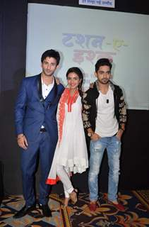 Sidhant Guota, Jasmin Bhasin and Zain Imam at Launch of Zee TV's New Show 'Tashan-e-Ishq'