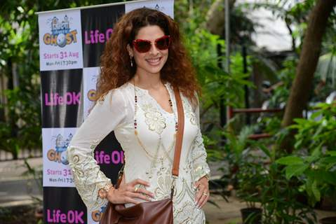 Tanaaz Irani at Launch of New Show 'Zindagi Abhi Hai Mere Ghost' on Life OK