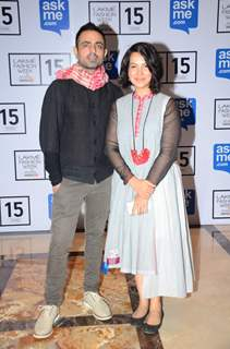 Shraddha Nigama and Mayank Anand at Lakme Fashion Week