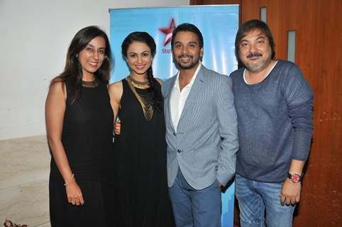 Deeya Singh, Manasi Gohil, Namit Das, and Tony Singh at Grand Premiere of  'Sumit Sambhal Lega'