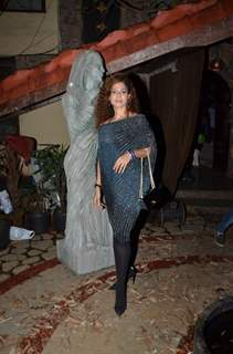 Tanaaz Irani at TV Party of Zindagi Abhi Baki Hain Mere Ghost