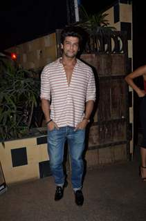 Kushal Tandon at Sargun Mehta's Birthday Bash