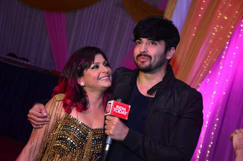 Dheeraj Dhoopar at Janvi Vora's Birthday Bash