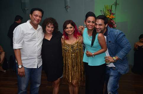 Kiran and Rinku Karmarkar, Ashita Dhawan and Shailesh Gulabani at Janvi Vora's Birthday Bash