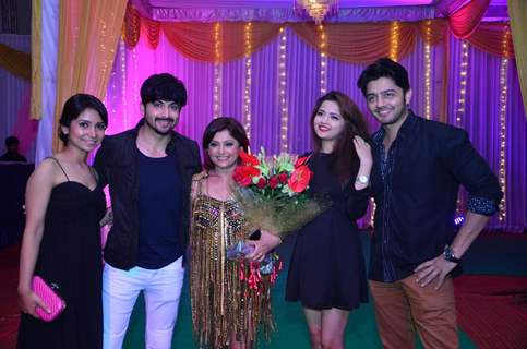 Vinni Arora, Shirin, Dheeraj Dhoopar and Allan Kapoor at Janvi Vora's Birthday Bash