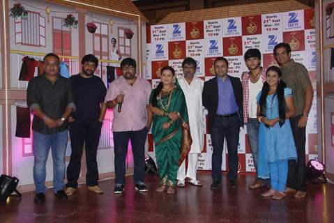 Cast of Zee TV's New Show 'Yeh Vaada Raha' at Launch