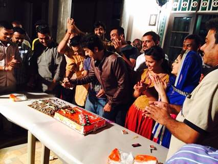 Celebration of 100 Episode Completion of Piya Rangrezz