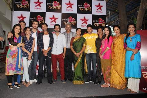 Cast of 'Kuch Toh Hai Tere Mere Darmiyaan' at Launch by Star Plus