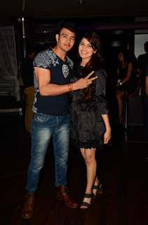 Aniruddh Dave with his fiance at Munisha Khatwani's Birthday Bash