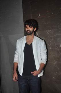 Barun Sobti at the Premiere of Meeruthiya Gangsters