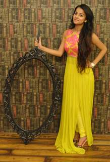 Mahima Makwana at a Charity Event