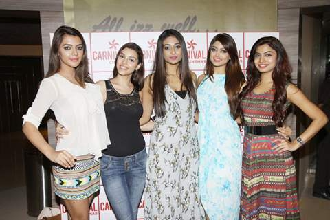 Ruhi Singh, Kyra Dutt, Satarupa Pyne, Akanksha Puri and Avani Modi at Calendar Girls Screening