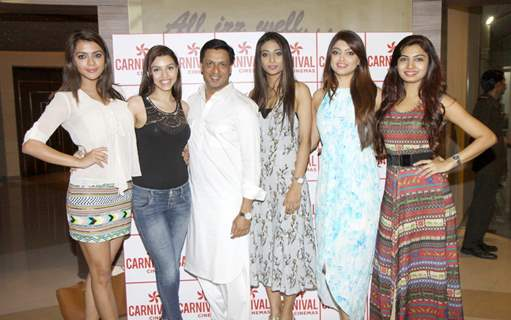 Ruhi Singh, Kyra Dutt, Madhur, Satarupa Pyne, Akanksha Puri and Avani Modi at  Screening