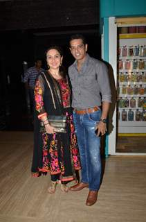 Anup Soni and Jui Babbar at Screening of Kis Kisko Pyaar Karoon