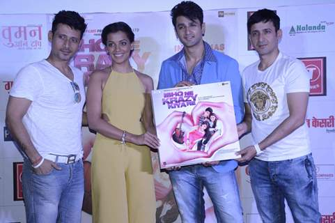 Team at the Trailer Launch of Ishq ne Krazy Kia Re
