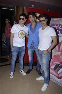 Nishant Malkani with Meet Brothers at the Trailer Launch of Ishq ne Krazy Kia Re