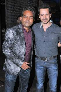 Girish Wankhede with Rakesh Paul at the Birthday Bash
