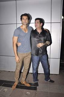 Hanif Hilal at Omung Kumar's Birthday Bash