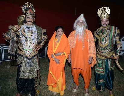 Surendra Pal, Rupa Dutta, Jitendra Singh and Ali Khan at Luv Kush - Ram Leela Dress Rehearsal
