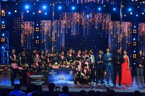 V Company Wins Dance Plus - Judges on the Stage