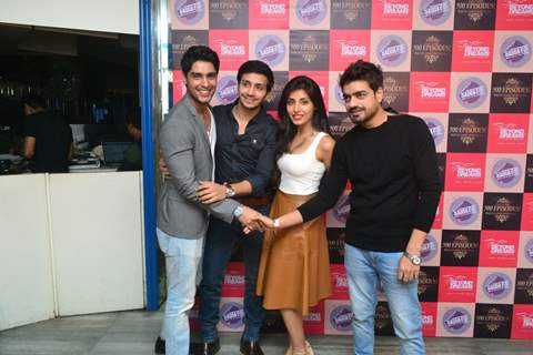 Cast of Sadda Haq Celebration of Completion of 500 Episodes
