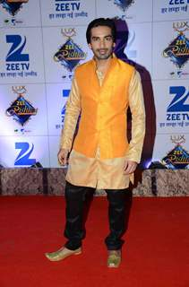 Mohit Sehgal at Zee Rishtey Awards 2015