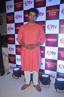 Sachin Shroff at Launch of &TV 's New Show 'Santoshi Maa'