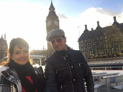 Karan Mehra and Nisha Rawal Celebrates 3rd Wedding Anniversary in London