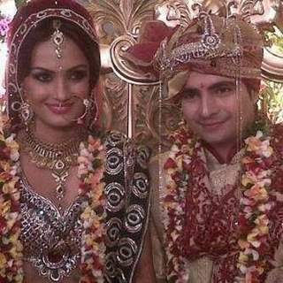 Karan Mehra and Nisha Rawal