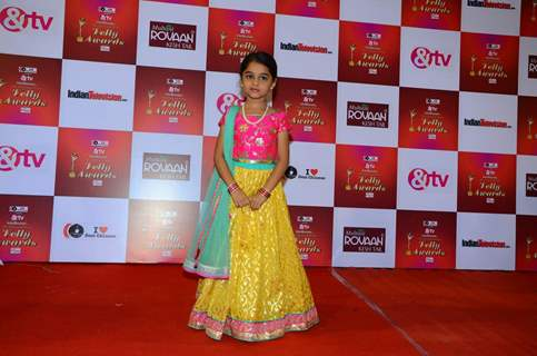 Spandan Chaturvedi at Indian Telly Awards