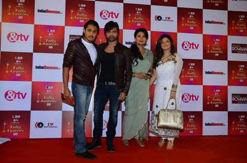 Himesh Reshammiya and Sonia Kapoor at Indian Telly Awards