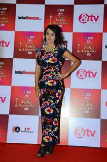 Mahima Makwana at Indian Telly Awards