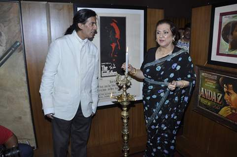 Legendary Actress Saira Banu Inaugurates Dilip Kumar's Picture Exhibition