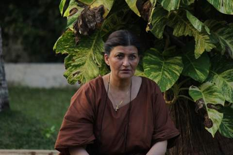 Sarika dons the role of Mrs. Fonseca in Darr Sabko Lagta Hai!