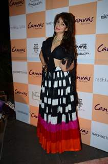 Vidya Malvade at Launch of Canvas by Jet Gems