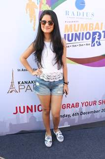 Avneet Kaur at Mumbai Juniorthon