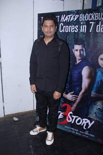 Bhushan Kumar poses for the media at the Success Bash of Hate Story 3