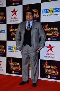 Ayub Khan at Big Star Entertainment Awards