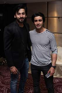 Shashank Vyas and Gautam Rode at at Bikramjeet Kanwarpal Mother's Birthday