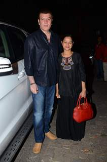Zarina Wahab at Special Screening of Bajirao Mastani