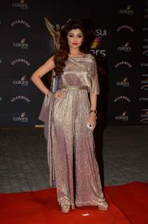 Akanksha Puri at Stardust Awards