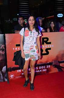 Juhi Pandey at Premiere of 'Star Wars: The Force Awakens'