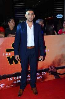 Amit Sadh at Premiere of 'Star Wars: The Force Awakens'