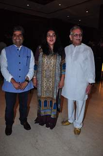 Gulazr, Meghna Gulzar and Vishal Bhardwaj at Launch of Film 'A Death in the Gunj'