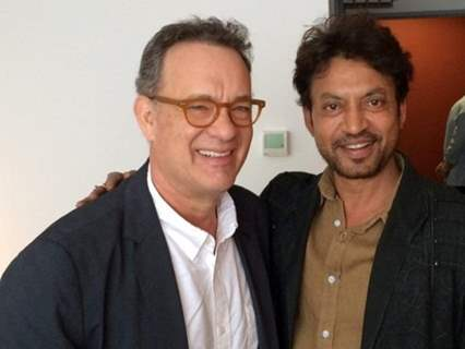 Irrfan Khan and Tom Hanks in Inferno