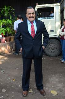 Shivaji Satam poses for the media at the Promotions of Ghayal Once Again on CID