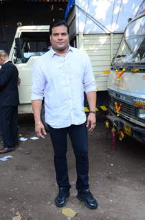 Dayanand Sheety at the Promotions of Ghayal Once Again on CID