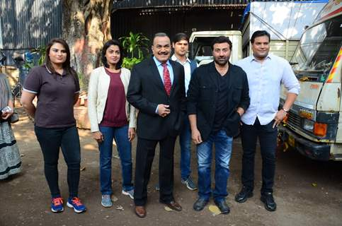 Promotions of Ghayal Once Again on CID