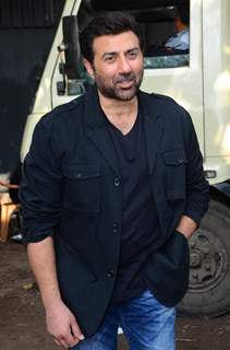 Sunny Deol at the Promotions of Ghayal Once Again on CID